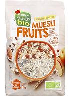 muesli aux fruits bio terres & céréales