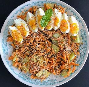 recette salade de carotte et lentille