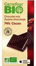 chocolat noir bio carrefour