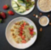 recette porridge à la courgette