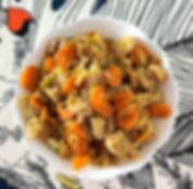 recette pâtes aux carottes et au fenouil