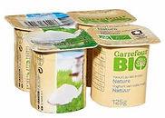 yaourts natre bio carrefour