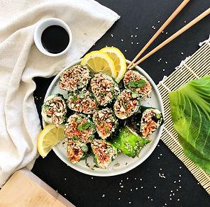 recette makis healthy aux légumes et tofu