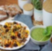 recette salade de quinoa croustillant