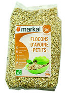 flocons avoine bio markal