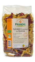 spirales quinoa bio primcal
