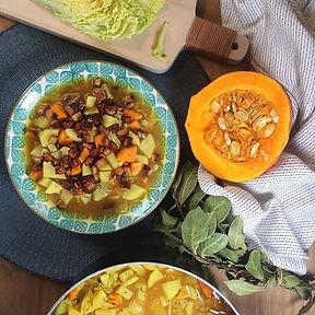 recette soupe aux légumes et pommes de terre