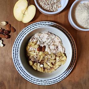 recette porridge façon galette des rois healthy