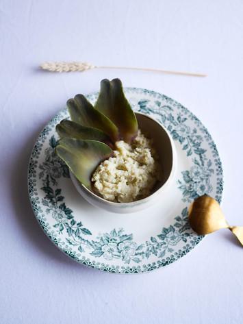 Caviar d'artichaut
