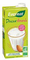 lait amande bio evernat