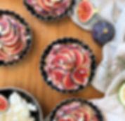 recette tartelettes aux figues healthy et sans cuisson