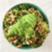 recette pâtes au brocoli et avocat