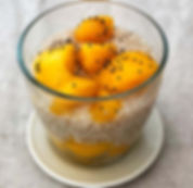 recette perles du japon coco, mangue, vanille