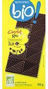 chocolat noir bio monoprix