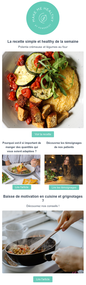 newsletter make me healthy