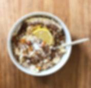 recette muesli bowl exotique