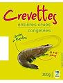 crevettes surgelées