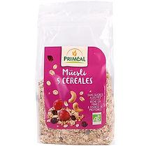 mueli 5 céréales bio primcal