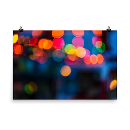 San Francisco Lights Poster