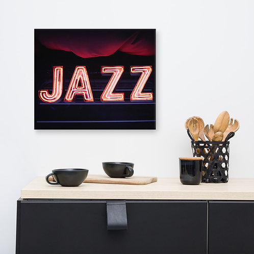 Jazz Canvas