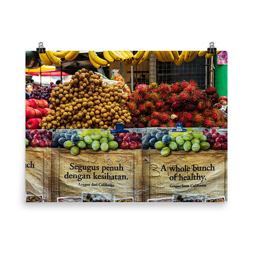 Malay Market Poster