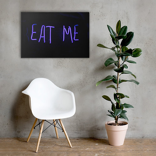 Eat Me Canvas