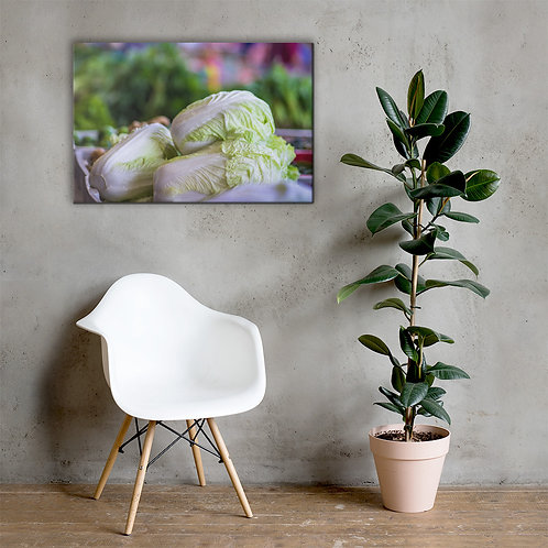 Chinese Leaf Canvas