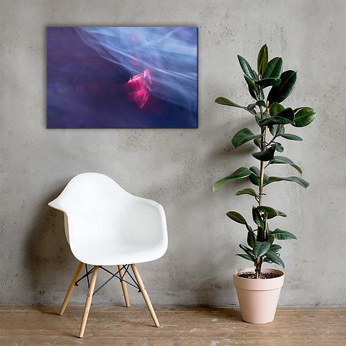 Neon Blaze Canvas