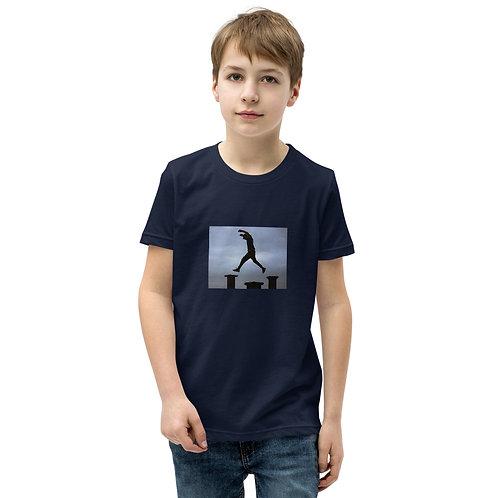 Sunset Jump! Youth Short Sleeve T-Shirt