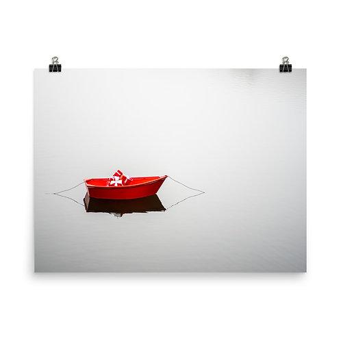Bateau Rouge Poster