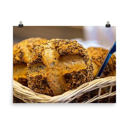 Bokeh Bread Poster