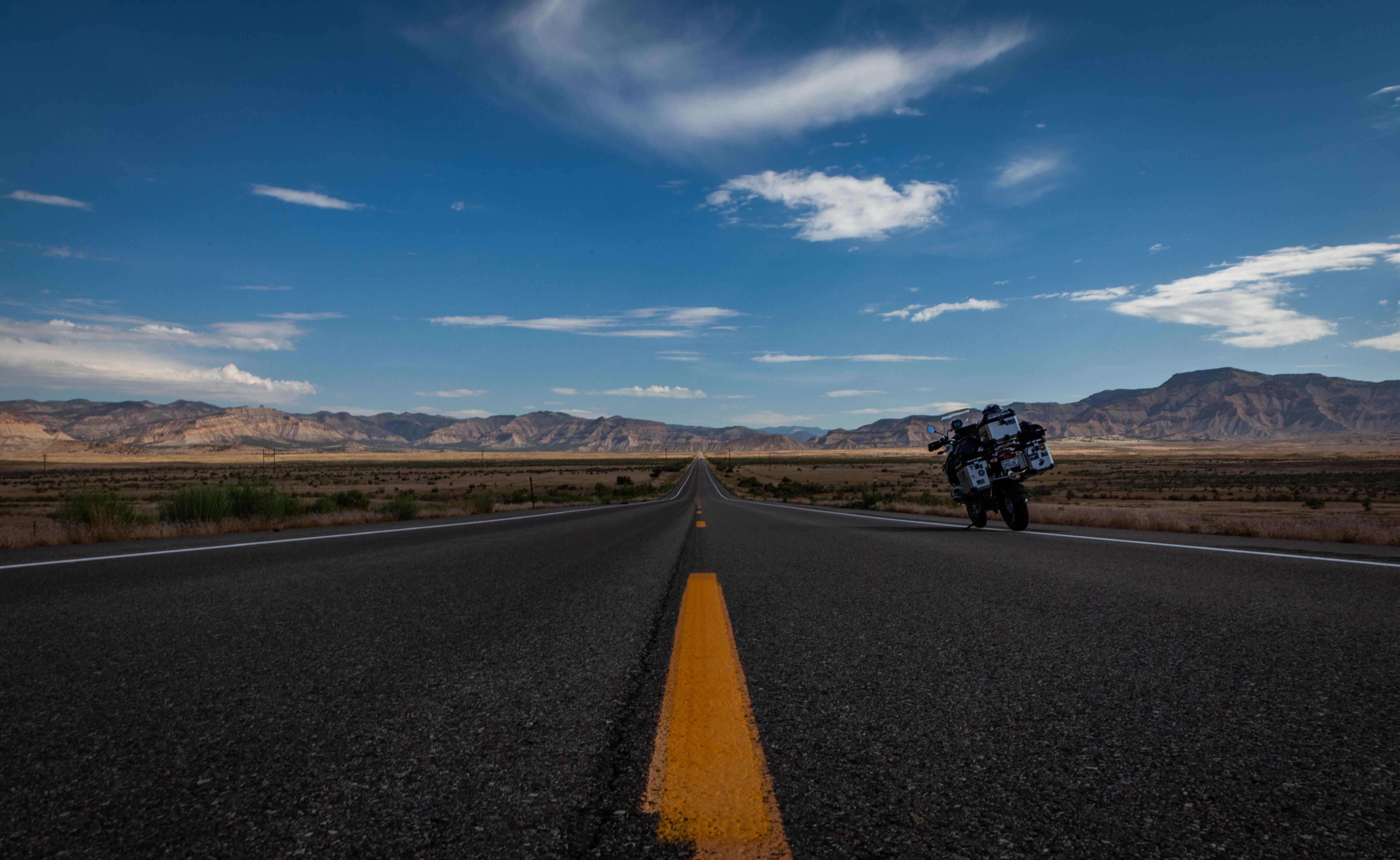 The road to Utah.