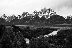 Grand Teton and the Snake river