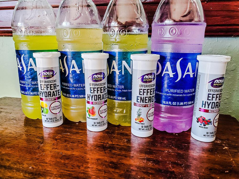 NOW® Sports Effer-Hydrate & Effer-Energy