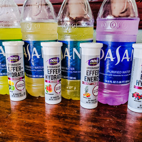 NOW® Sports Effer-Hydrate & Effer-Energy Review