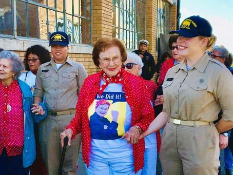 Rosie the Riveter trailblazer, Agnes Moore, passes away at 100