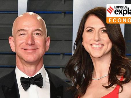 Jeff Bezos versus MacKenzie Scott