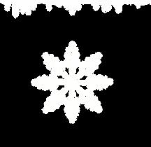 Glaçons et flocon de neige