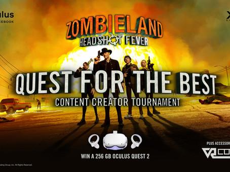 Zombieland VR 'Quest For The Best' Content Creator tournament kicks off