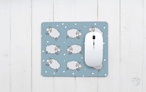 פד מעוצב לעכבר | משטח לעכבר מחשב | כבשים וכוכבים