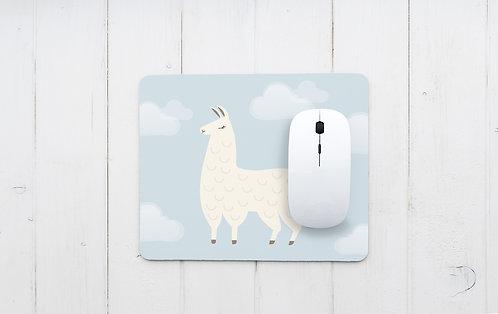 פד מעוצב לעכבר | משטח לעכבר מחשב | דגם אלפקה