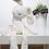 Thumbnail: בובת כותנה לילדים   מתנה ליולדת   מתנה לתינוק   בובת ארנב לבנה