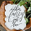 Thumbnail: Nothin' Fancy Just Love Acrylic Sign | Elopement Sign