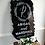 Thumbnail: Wedding Sign with Wreath   Brushed Acrylic