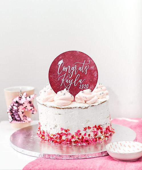 Custom Graduation Cake Topper