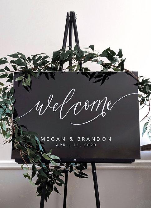 Welcome Sign | Acrylic