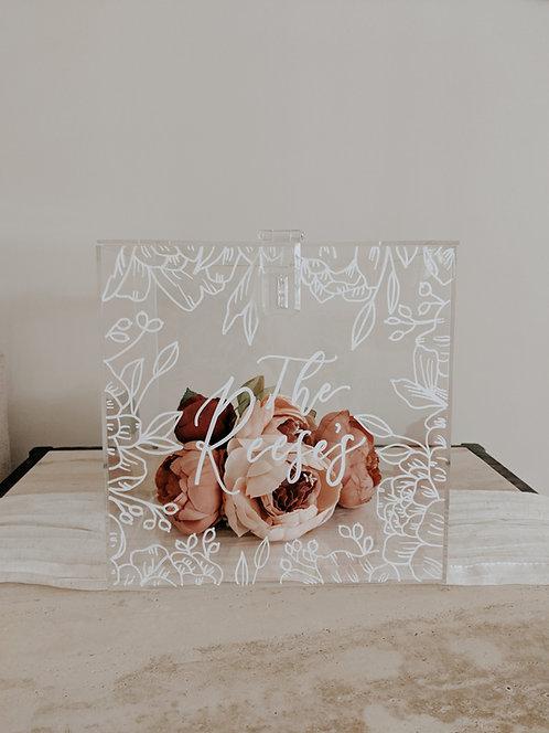 Acrylic Card Box