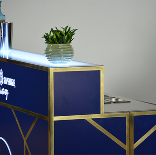 BOMBAY SAPPHIRE / MOBILE BAR  HOUSE OF GIN