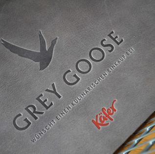 GREY GOOSE / KÄFER / LEDER KORBEINLEGER