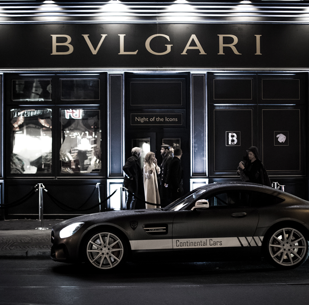 "BVLGARI ""NIGHT OF THE ICONS""  EVENT-INTERIOR"